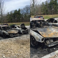 Vehicle Catches Fire in Campus Center Parking Lot