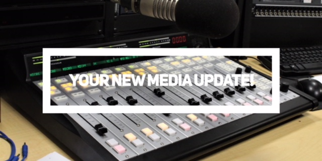 Catch Up With the New Media!  This Week's Podcast Is Here.